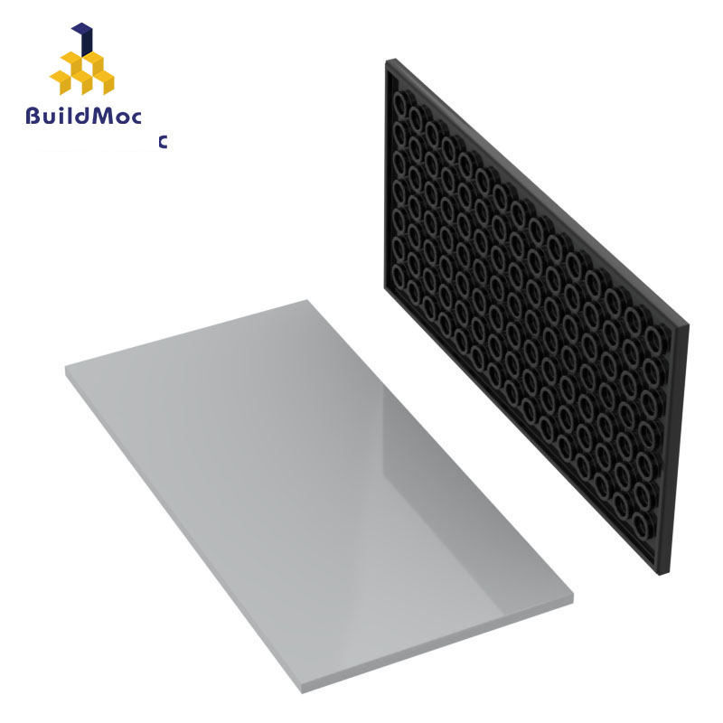 BuildMOC Compatible Assembles Particles 90498 8x16 Light Panel Building Blocks Parts DIY LOGO Educational Tech Parts Toys