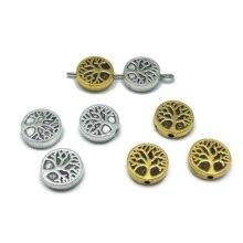 20шт очарование 10mm круглый кусок дерева жизни связана бусины для изготовления ювелирных изделий для мужчин и женщин браслет ожерелье DIY аксессуары