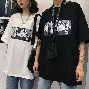 Men's tshirt Naruto Summer Harajuku Cool Unisex Short Sleeve t shirt Japanese Anime Funny Printed Streetwear Plus size T-shirt(China)