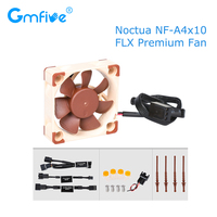 GmFive Noctua NF A4x10 FLX Cooling Fan 40X40X10 40mm 4500 RPM 17.9 dB(A) Cooler Fan Radiator Silent For ENDER 3 3D Printer Parts