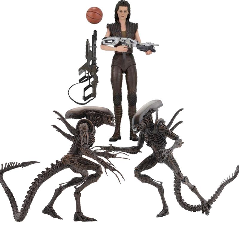 NECA Alien Series 14 Resurrection Xenomorph Warrior Ripley 8 Action Figure Toy Dolls Gift For Christmas