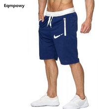 New Fashion Summer Men Casual Sweatpants Shorts Slim Short Fitness Clothing Bodybuilding Brand XXL