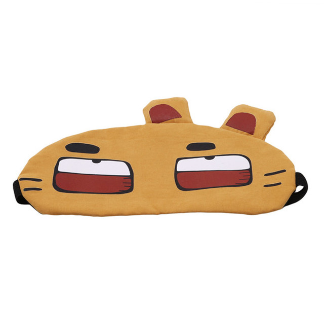 New Arrivals Korean Cute Eye Patch Soft Padded Sleep Travel Shade Cover Rest Relax Sleeping Blindfold Eye Care Tools Eye Mask 4