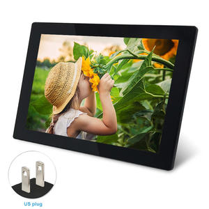 Picture-Frame Photos WIFI Digital Music Vedio Sharing Sending Travel Apply Wide-Angle