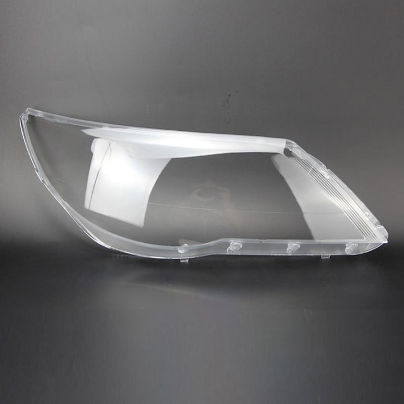 2 pcs for TVolkswagen Tiguan 2009-2012 LENS lampshade Front headlight cover Headlight transparent housing Headlight protection
