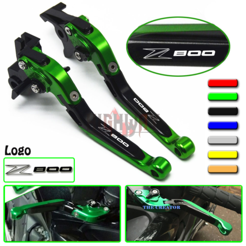 Рычаг тормозной ручки CNC выдвижной складной регулируемый рычаги тормозной муфты для Kawasaki Z800 Z800E Z 800 версия 2013-2016