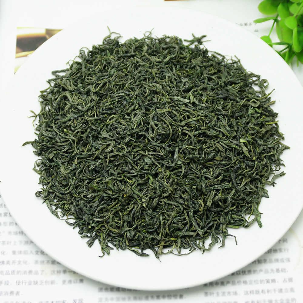 2018 จีนภูเขา Yunwu สีเขียวชาจริงอินทรีย์ New Early Spring ชาสำหรับลดน้ำหนักสีเขียวอาหาร Health Care
