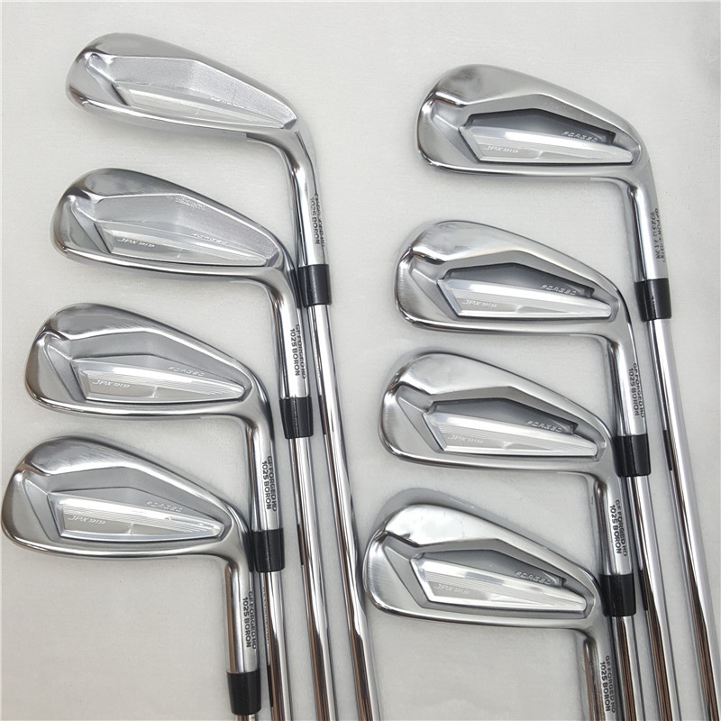 8PCS Golf Iron  JPX919 Set   Golf Forged Irons  Golf Clubs 4-9PG R/S Flex Steel/Graphite Shaft With Head Cover