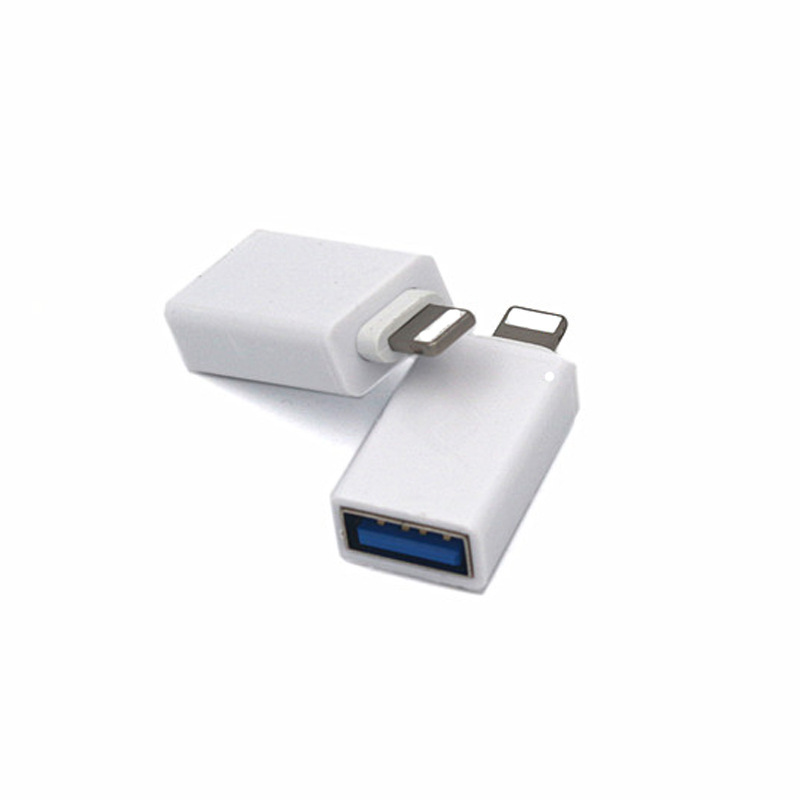 Otg-Adapter Keyboard Mouse iPad iPhone Apple for IOS To Usb-Port of SD Card-Reader Data-Transfer