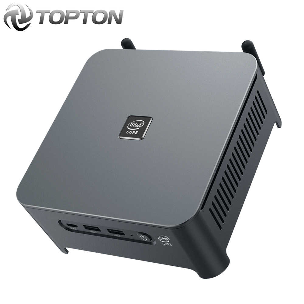 10th gen core i9 10980hk i7 10750h intel mini pc 2 lans windows 10 2 * ddr4 2 * nvme gaming computador dp hdmi tipo-c 3x4k exibição