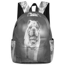 WHEREISART рюкзаки бультерьер многоцелевой рюкзак мягкие и удобные студенческие рюкзаки для студентов колледжа