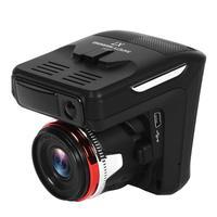 X7 2 in 1 Car DVR Radar Detector HD LED Sucker Type USB Cigarette Lighter 30 Frames 1080p 2.31 inch IPS 140 Lens Dash Camera