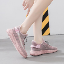 Women Sneakers 2020 Summer Fashion Breathable Women Running Shoes Lace Up Shoes girl flyknit  casual Footwear 3H35