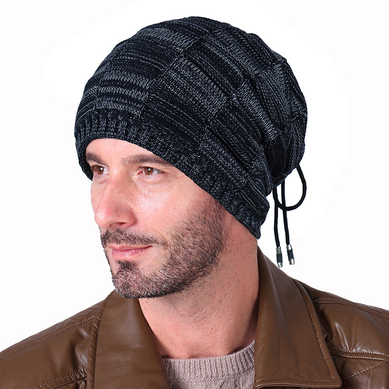 Autumn Winter Hats For Men Knitted Beanies Hats Outdoor Ski Bib Hats Multi Purpose Hats Scrves Ring Loop Wholesale