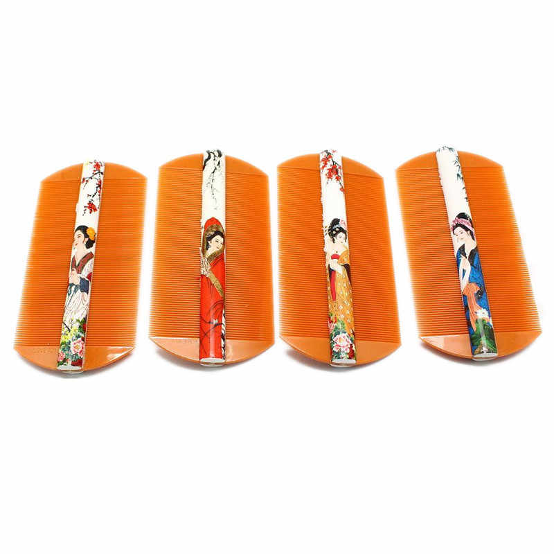 1pc 정전기 방지 이빨 닫기 Tine Comb Treatment Louse 터미네이터 Fine Tooth Combs Nit Removal Nits 비듬 제거제 Hair Comb