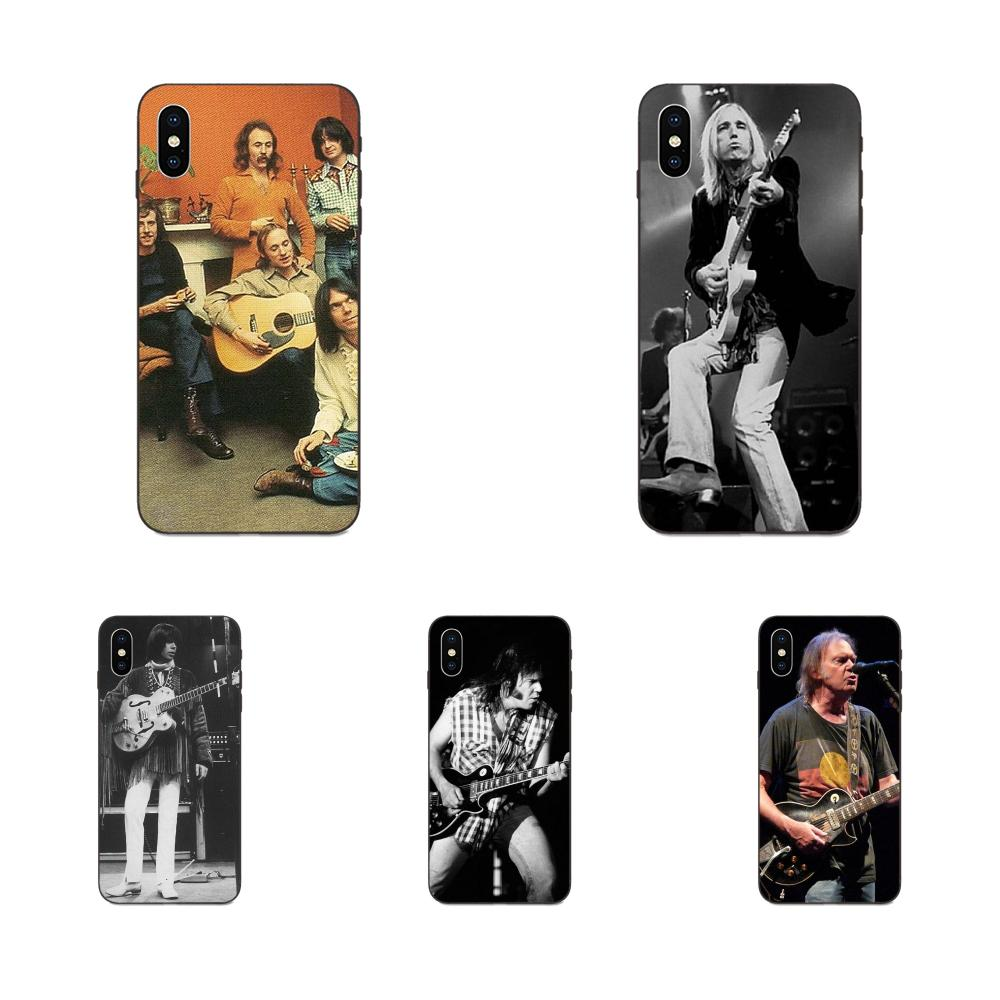 For Apple <font><b>iPhone</b></font> 4 4S 5 5S SE <font><b>6</b></font> 6S 7 8 Plus X XS Max XR Art Hot Printed Cool Phone <font><b>Case</b></font> Neil Young Albequerque <font><b>1975</b></font> image