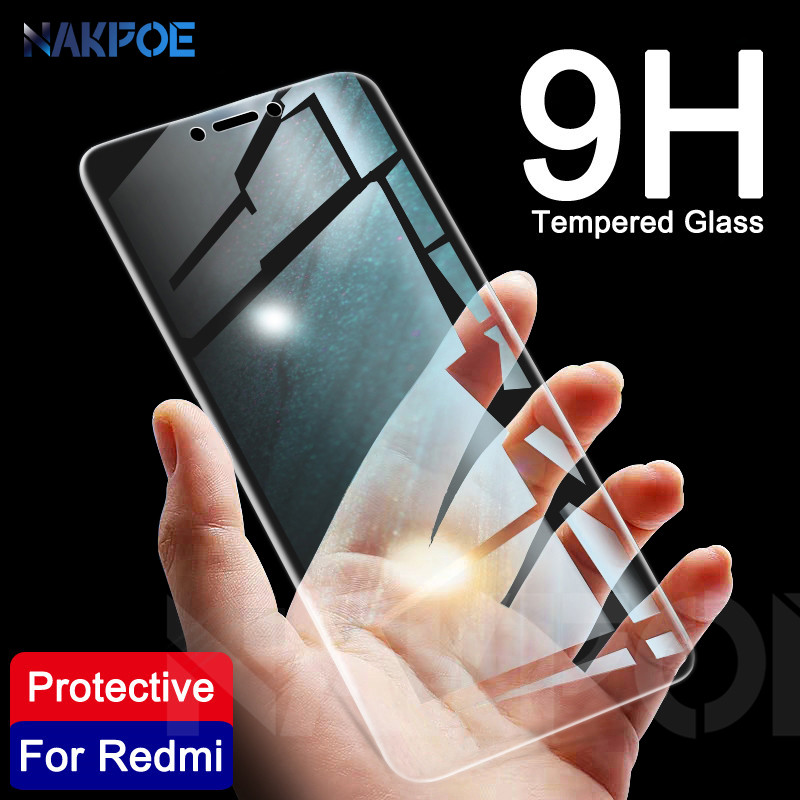 9H Tempered Glass On The For Xiaomi Redmi 5 Plus 5A 4 4X 4A GO S2 K20 Note 4 4X 5 5A Pro Screen Protector Protective Glass Film