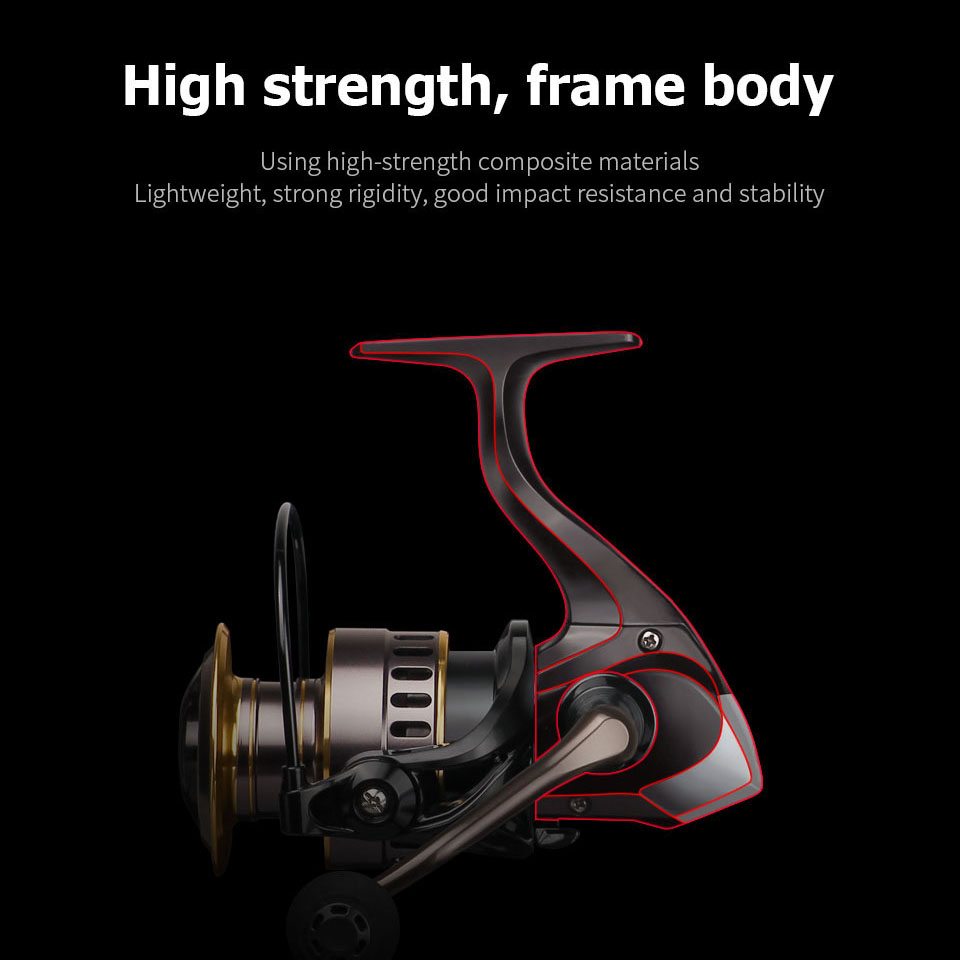 New HE 1000 - 7000 Spinning Reel 2