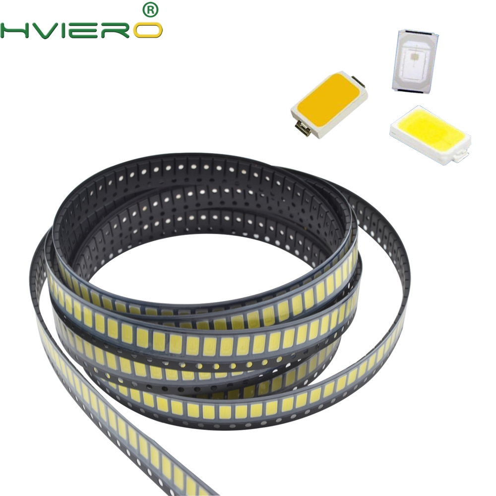 100pcs Smd Smt 5730 5630 0.5W 6000-6500k 3.0-3.2V Ultra Bright White Red Blue Green Led Emitting Diodes Chip Surface Mount Led
