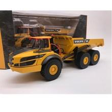 1:50 модель грузовика из сплава Volvo A40G игрушечный металлический грузовик автомобиль инженерный автомобиль коллекционный подарок