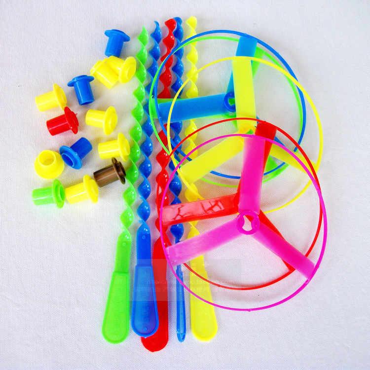 5 pçs/lote Voando De Fadas Crianças Brinquedos Favoritos Para Kid Puzzle Game Dragon Fly Hot Rodas Voando Feito À Mão Bamboo Oyuncak