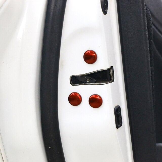 12 pièces voiture modifié porte vis bouchon de Protection rouille vis couvercle pour Honda ville VEZEL HR-V Accord Civic Auto porte vis couvercle