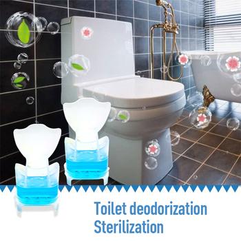 15 dni 1PC toaleta dezodorant odświeżacz do czyszczenia żel detergentu kwiat wc aromatyczne łazienka wielofunkcyjny czystość TSLM1 tanie i dobre opinie 1 pc Żel 20 ml Four colors Dropshipping
