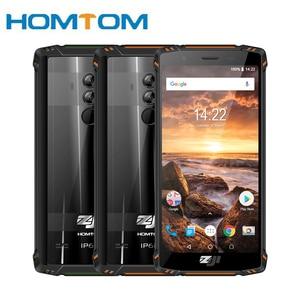 Image 1 - HOMTOM ZJI ZOJI Z9 Helio P23 IP68 مقاوم للماء 4G هاتف LTE الذكي ثماني النواة 5.7 بوصة 6GB RAM 64GB ROM 5500mAh كامل العصابات الهاتف المحمول