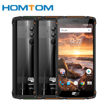 HOMTOM ZJI ZOJI Z9 Helio P23 IP68 Waterproof 4G LTE Smartphone Octa Core 5.7 inch 6GB