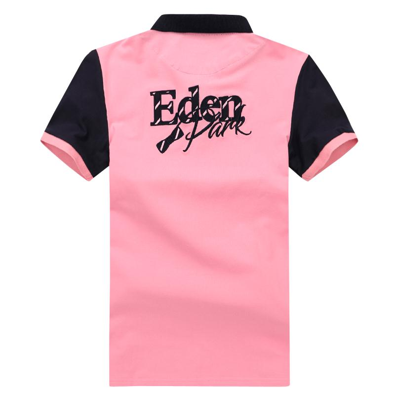 Top Selling Eden Men\'s Polo France Park Homme Polo Classic Casual Smart Stretching Cotton Best Artist Men Tees Big size M to 3XL