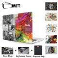 MTT  дизайнерский чехол для Macbook Air Pro retina 11  12  13  15  16 дюймов с сенсорной панелью  13 3 дюймов  чехол для ноутбука + чехол для клавиатуры