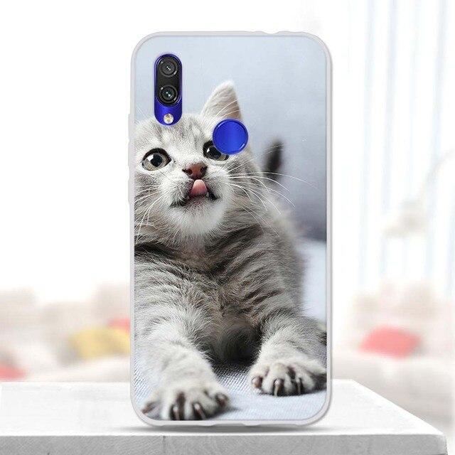 """For Xiaomi Redmi 7 TPU Case Cover 6.26"""" Protective Bumper on Redmi 7 Redmi7 Silicon Back Cover Funda Soft Redmi 7 Capa Coque"""