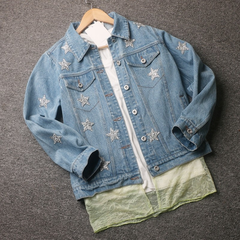 2020 New Spring Autumn Women Denim 2 Piece Sets Pentagram Designer Jeans Jackets And Mini Skirts Fashion Streetwear Female Sets