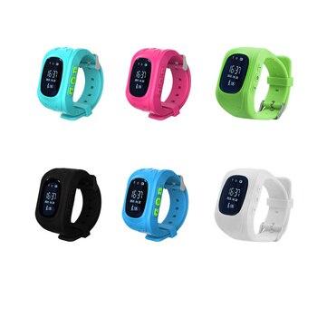 Q50 GPS смарт детские часы SOS поиск местоположения локатор трекер анти-потеря монитор детские часы