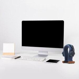 Image 5 - עור עמדת אוזניות האוניברסלי Gaming אוזניות מחזיק אוזניות תמיכה גומי רגליים, החלקה, יציב עבור אוזניות