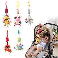 Zachte Baby Wieg Bed Wandelwagen Speelgoed Spiraal Baby Speelgoed Voor Pasgeborenen Autostoel Educatief Rammelaars Baby Handdoek baby Speelgoed 0 -12 maanden 5