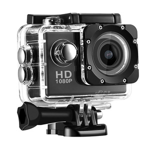 New Action Camera 1080P 12MP Sports Camera Full HD 2.0 Inch Action Camera 30m/98ft Underwater Waterproof Snorkel Surf Camera