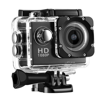 цена на New Action Camera 1080P 12MP Sports Camera Full HD 2.0 Inch Action Camera 30m/98ft Underwater Waterproof Snorkel Surf Camera