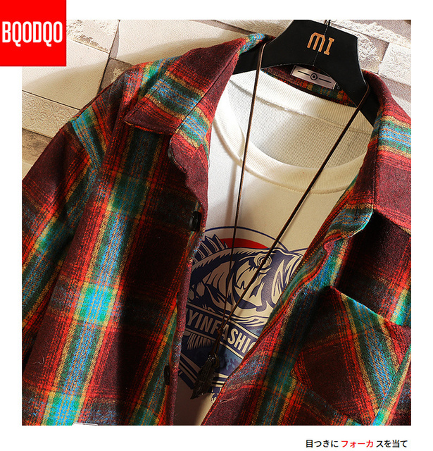 5XL Flannel Casual Shirt