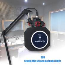 Original Alctron PF8 Professional Simple Studio Mic Screen Acoustic Filter Desktop Recording Microphone Noise Reduction Wind(China)