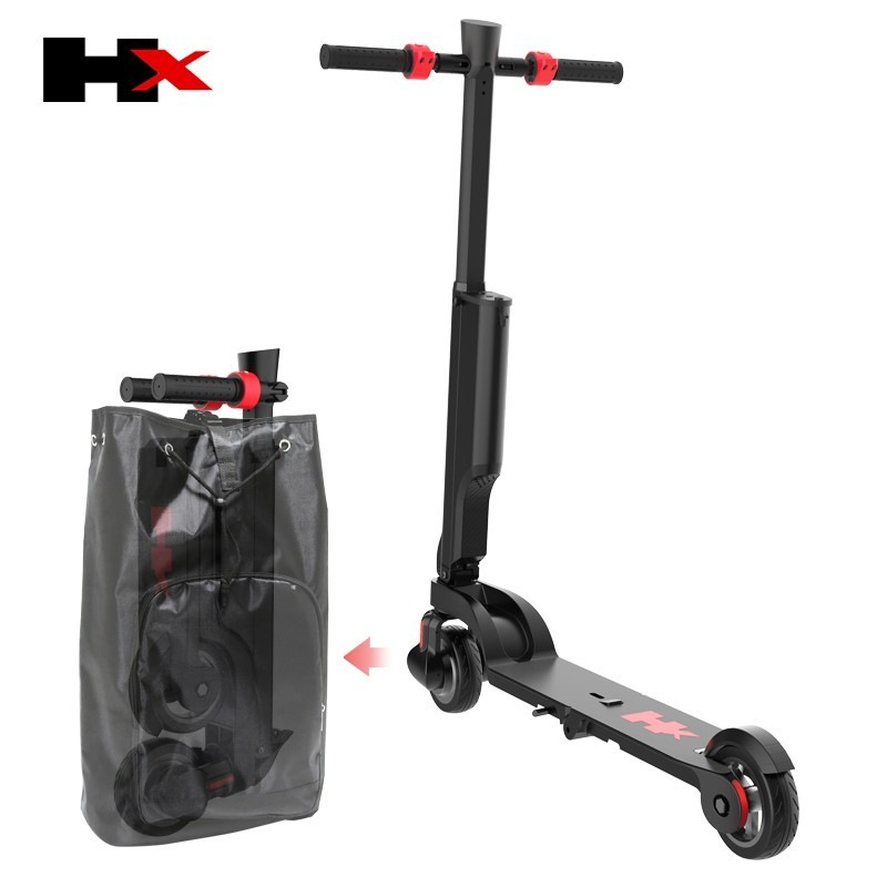 HX kick scooter smallest packing size save the shipping cost Bagpack Adult folding scooter Portable Folding Electric Scooter 2