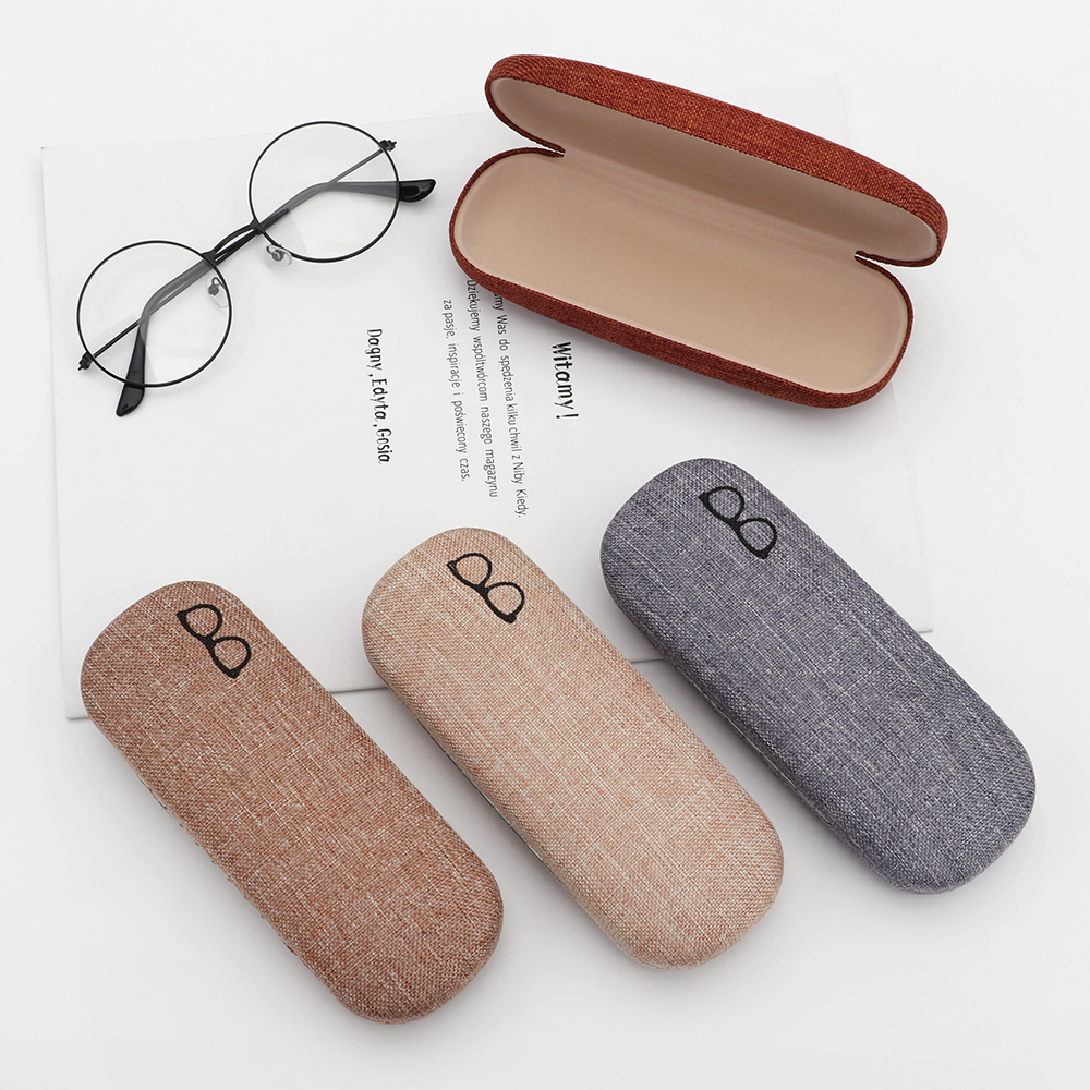 1Pcs New Fashion Portable Hard Spectacle Case Sunglasses Storage Box Eyeglasses Holder Protector Pouch Bag Eyewear Accessories