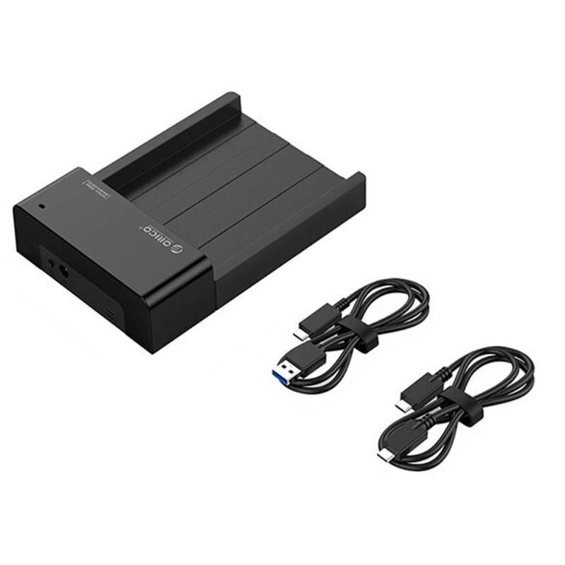 ORICO HDD <font><b>SSD</b></font> <font><b>Box</b></font> 3.5 inch SATA To <font><b>USB</b></font> <font><b>3.1</b></font> Gen2 Type C HDD Enclosure 2.5 inch Hard Drive Dock 10Gbps12V Power EU US Adapter image
