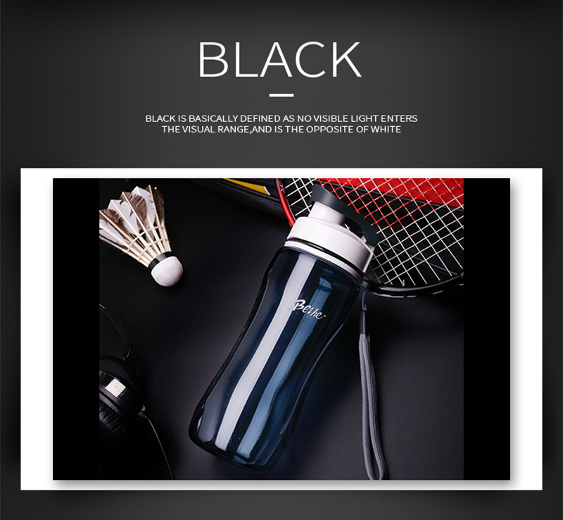 Hc55921046b96424fb32fff7a9a38877dP Kettle 720ML plastic water dispenser student outdoor sports school portable space cup leak-proof cup drinking water bottle