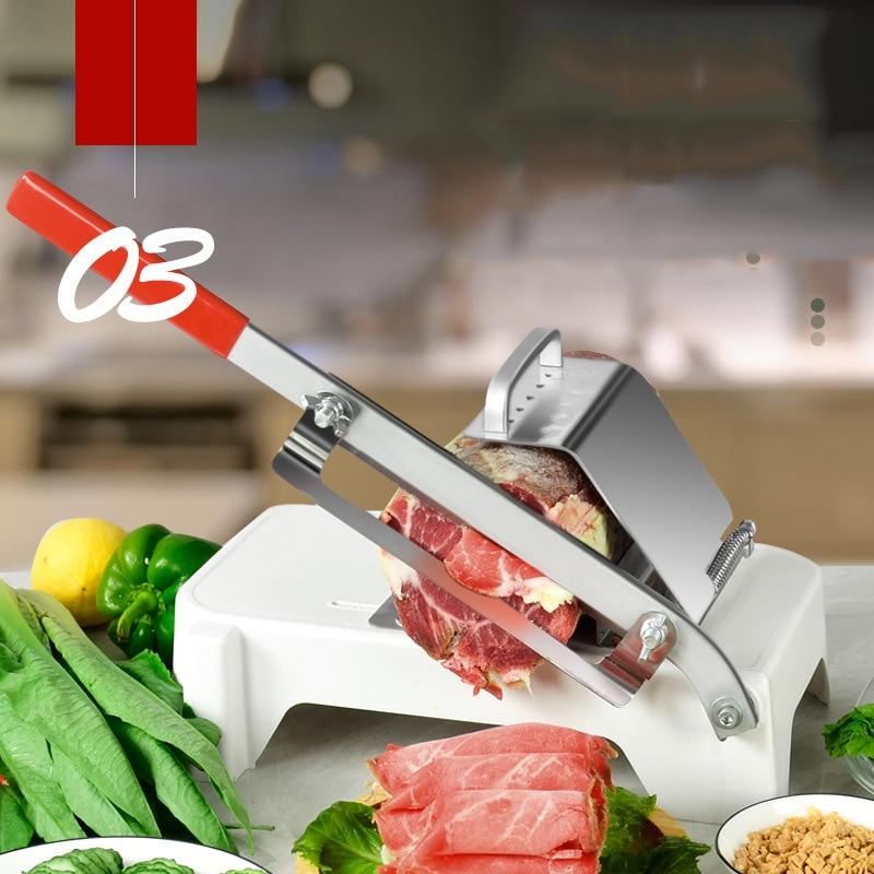 de carne espessura do agregado familiar ajustável