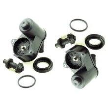HONGGE Rear Handbrake Brake Motor Servo Calipers + Screw Bearing Repair Kits For Seat Alhambra II A6 C6 Q3 4F0 615 404F 32332082 2pcs 6 teech rear caliper electronic parking brake motor for a6 c6 s6 q3 4f0998281b 4f0 998 281b