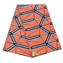 Последние поступления Новая мода голландский батик в африканском стиле воск высокого качества Pagnes настоящая восковая печать розовая ткань