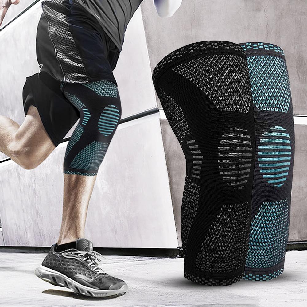 SKDK Elastic Knee Pad Sports Fitness Kneepad Gym Gear Patella Running Basketball Volleyball Tennis Knee Brace