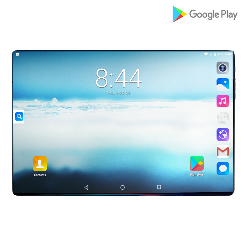 2019 Hard Tempered 2.5D 10 Inch Tablet Android 9.0 Dual SIM Cards 1280*800 IPS 6000mAh Octa Core Tablet 6GB RAM 64GB ROM Gifts