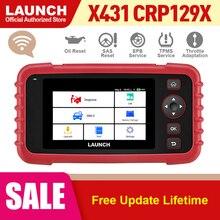 Ra Mắt X431 CRP129X Ô Tô OBD2 Máy Quét Xe Công Cụ Chẩn Đoán Tự Động Mã OBDII Creader 129X PK CRP129